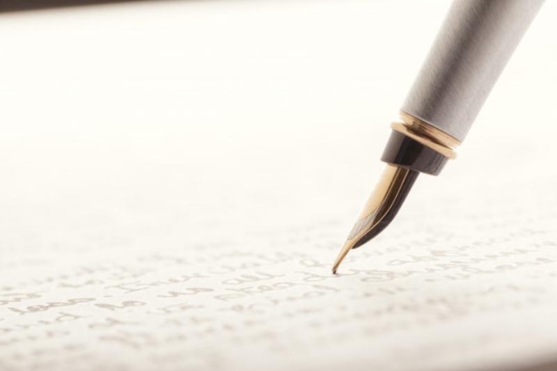 自筆証書遺言を書く手順